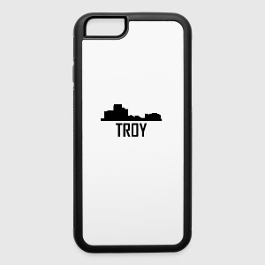 Troy Michigan City Skyline - iPhone 6/6s Rubber Case