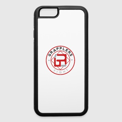 Light 001 grapplersfight LOGO Back - iPhone 6/6s Rubber Case