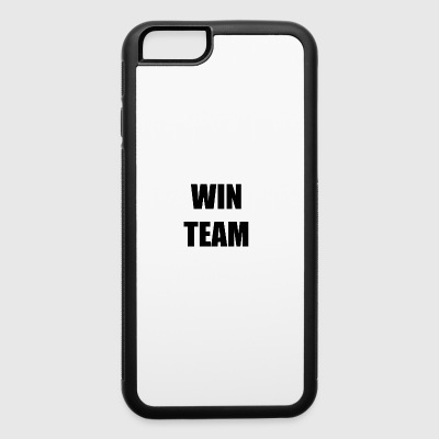 win team - iPhone 6/6s Rubber Case