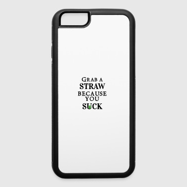 Grab a straw - iPhone 6/6s Rubber Case