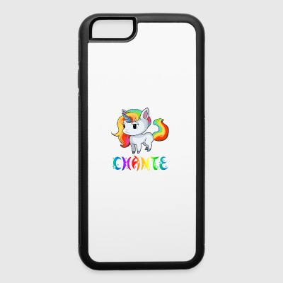 Chante Unicorn - iPhone 6/6s Rubber Case