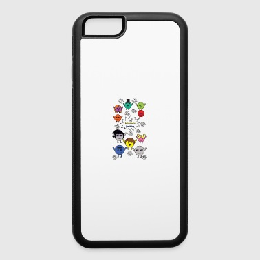 The Subatomic Particles - iPhone 6/6s Rubber Case