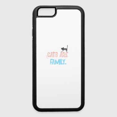 cats are family - iPhone 6/6s Rubber Case