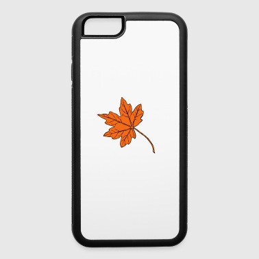 Big maple leaf - iPhone 6/6s Rubber Case