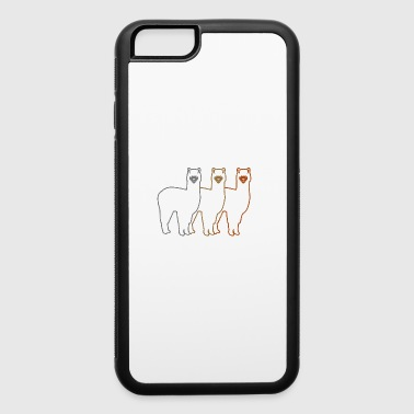 Prepare for the Alpacalypse Alpaca Lovers - iPhone 6/6s Rubber Case