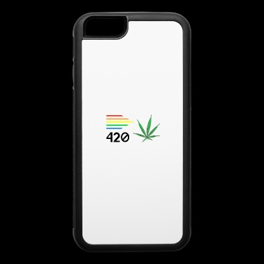 Weed 420 Colours - iPhone 6/6s Rubber Case