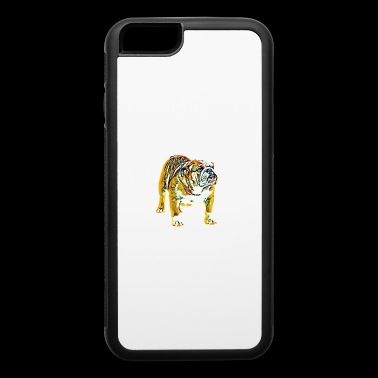 ENGLISH BULLDOG PAINTED - iPhone 6/6s Rubber Case