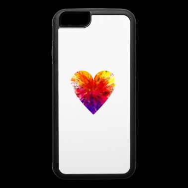 Cute Love Shirt Gift Idea for men and women - iPhone 6/6s Rubber Case