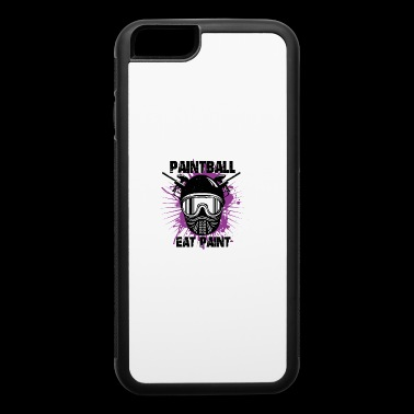 Paintball - Eat Paint - iPhone 6/6s Rubber Case