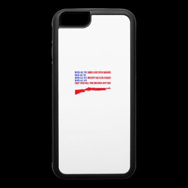 Right to Gear Arms T-shirt - iPhone 6/6s Rubber Case