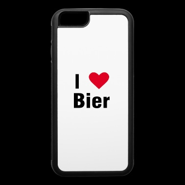 Bier Beer shirt drink original name german gift - iPhone 6/6s Rubber Case
