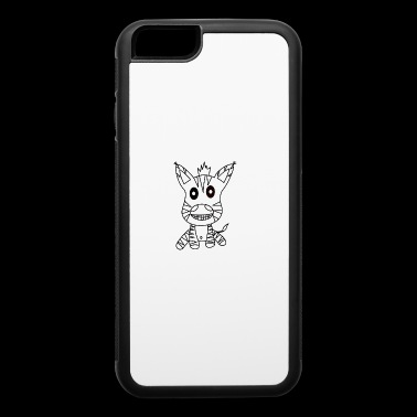 sweet zebra present idea animal children t-shirt - iPhone 6/6s Rubber Case