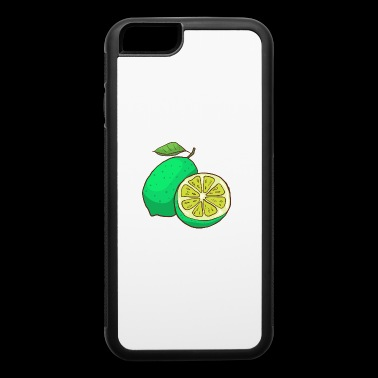 Green Lime Citrus - iPhone 6/6s Rubber Case