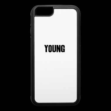 young shirt life-loving fun gift idea - iPhone 6/6s Rubber Case