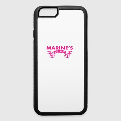 Marines Wife Yes Hes Working - iPhone 6/6s Rubber Case