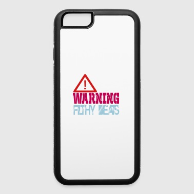 warning filthy beats - iPhone 6/6s Rubber Case