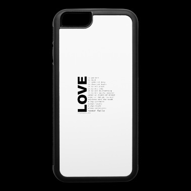corinthians cool quotes - iPhone 6/6s Rubber Case