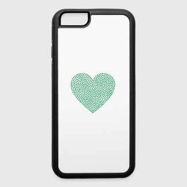 marijuana heart - iPhone 6/6s Rubber Case