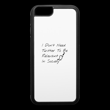 Twitter 2 - iPhone 6/6s Rubber Case