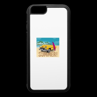 Surfing Tee Shirt Gift for men and women - iPhone 6/6s Rubber Case