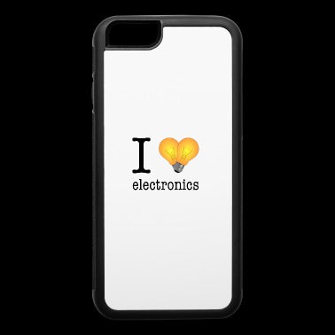 I love Electronics / Gift Idea - iPhone 6/6s Rubber Case