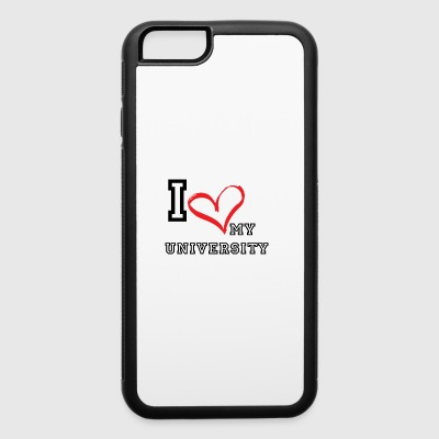 I_LOVE_MY_UNIVERSITY - iPhone 6/6s Rubber Case