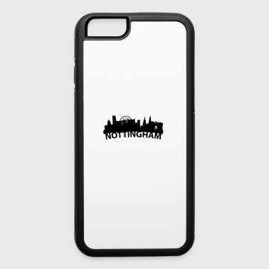 Arc Skyline Of Nottingham England - iPhone 6/6s Rubber Case