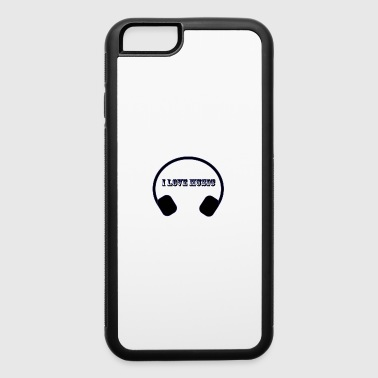 music - iPhone 6/6s Rubber Case