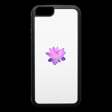 Purple lotus flower - iPhone 6/6s Rubber Case