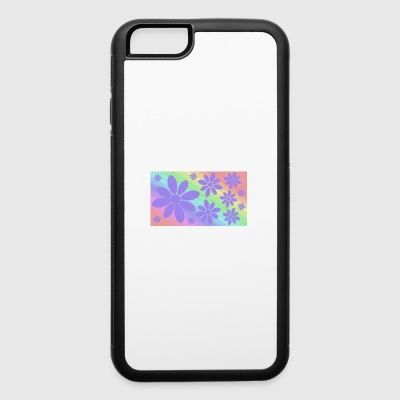 Flowers and colors - iPhone 6/6s Rubber Case