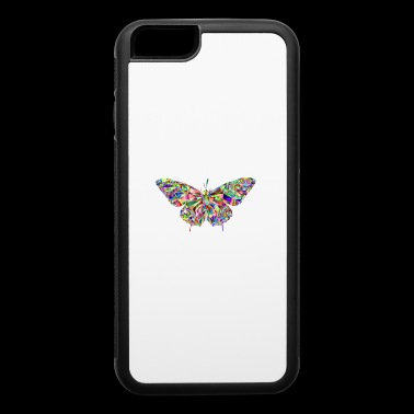 brilliant butterfly - iPhone 6/6s Rubber Case