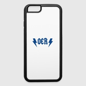 OER Rocks (Blue) - iPhone 6/6s Rubber Case