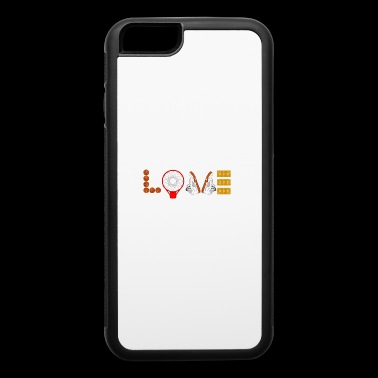 I LOVE Basketball Sport Slam-dunks Basketballer 6 - iPhone 6/6s Rubber Case