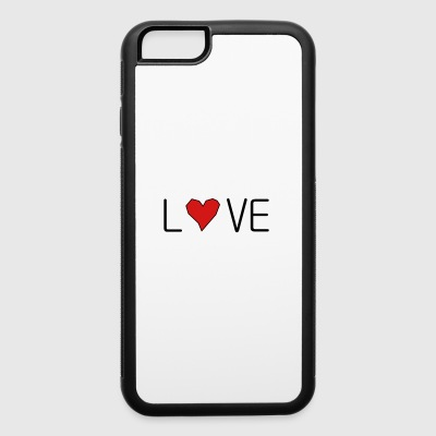 he_art_love - iPhone 6/6s Rubber Case