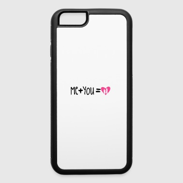 me + you = love - iPhone 6/6s Rubber Case