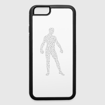 Polygon Man - iPhone 6/6s Rubber Case