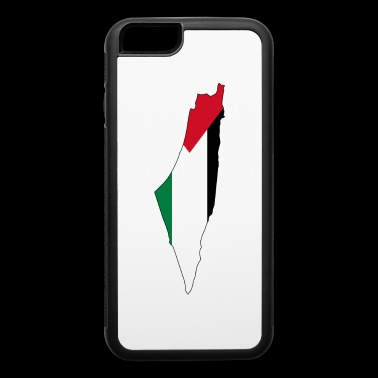 Flag map of Palestine Palestinian - iPhone 6/6s Rubber Case