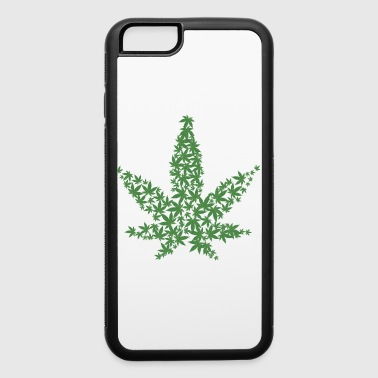 cannabis leaf - iPhone 6/6s Rubber Case