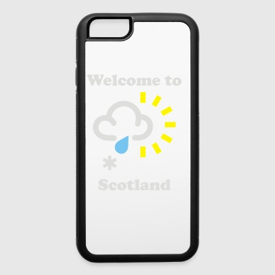 Scottish Weather - iPhone 6/6s Rubber Case
