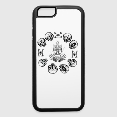 skull halloween - iPhone 6/6s Rubber Case
