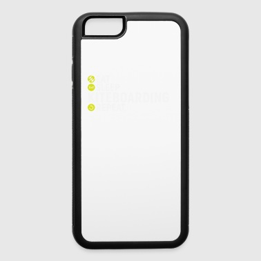 Eat, sleap, kiteboarding, repeat - gift - iPhone 6/6s Rubber Case