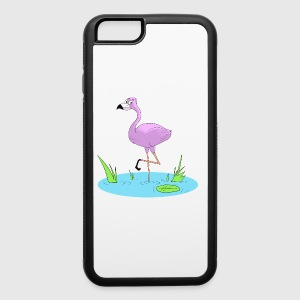 Pink Flamingo - iPhone 6/6s Rubber Case