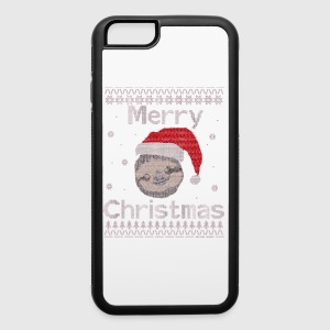 Merry Sloth Christmas - iPhone 6/6s Rubber Case