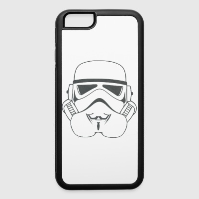 anonymous stormtrooper - iPhone 6/6s Rubber Case