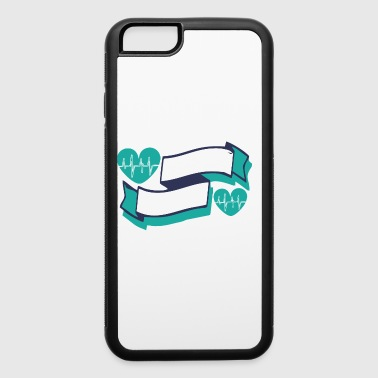 BIKING is my cardio - iPhone 6/6s Rubber Case