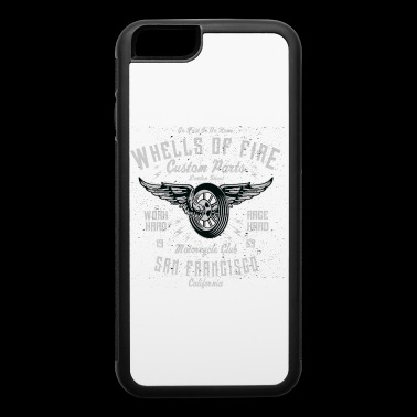Wheels Of Fire Exclusive T-shirt Limited Edition - iPhone 6/6s Rubber Case