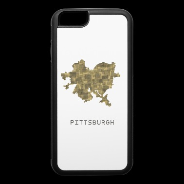 pittsburgh yellow - iPhone 6/6s Rubber Case