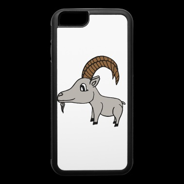 sweet little grey goat - iPhone 6/6s Rubber Case