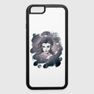 Wolfman Watercolor - iPhone 6/6s Rubber Case