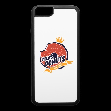 dilla's donuts - iPhone 6/6s Rubber Case